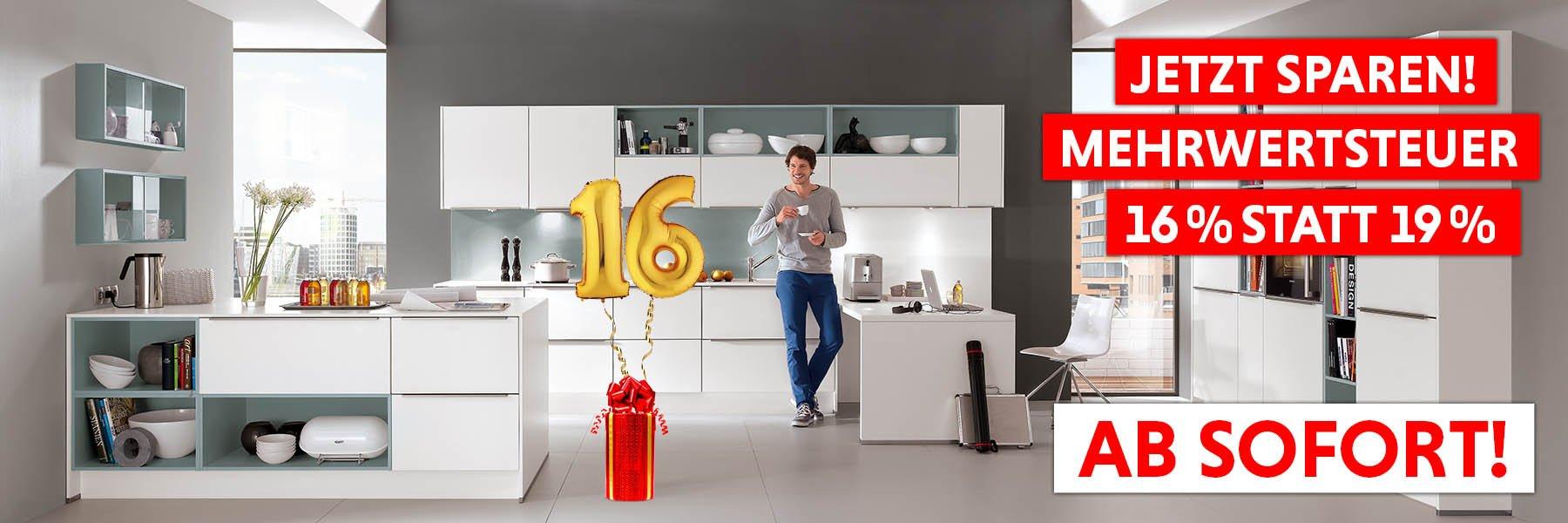 Küchenzentrum Dresden Mehrwertsteuer Senkung