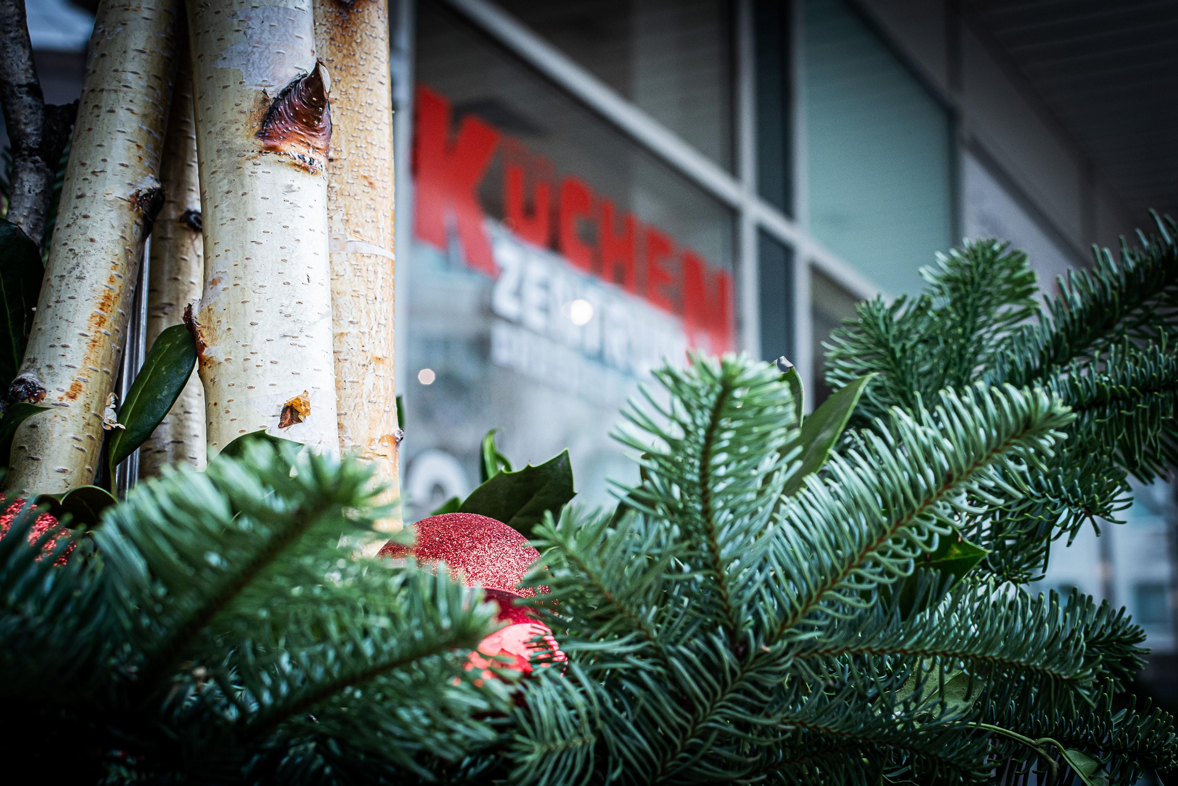 Weihnachten im Küchenzentrum Dresden