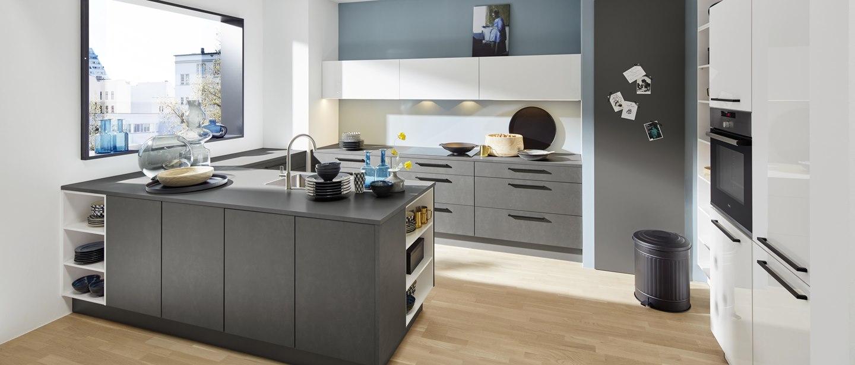 Kleine Räume, große Wirkung dank Nolte Küchen