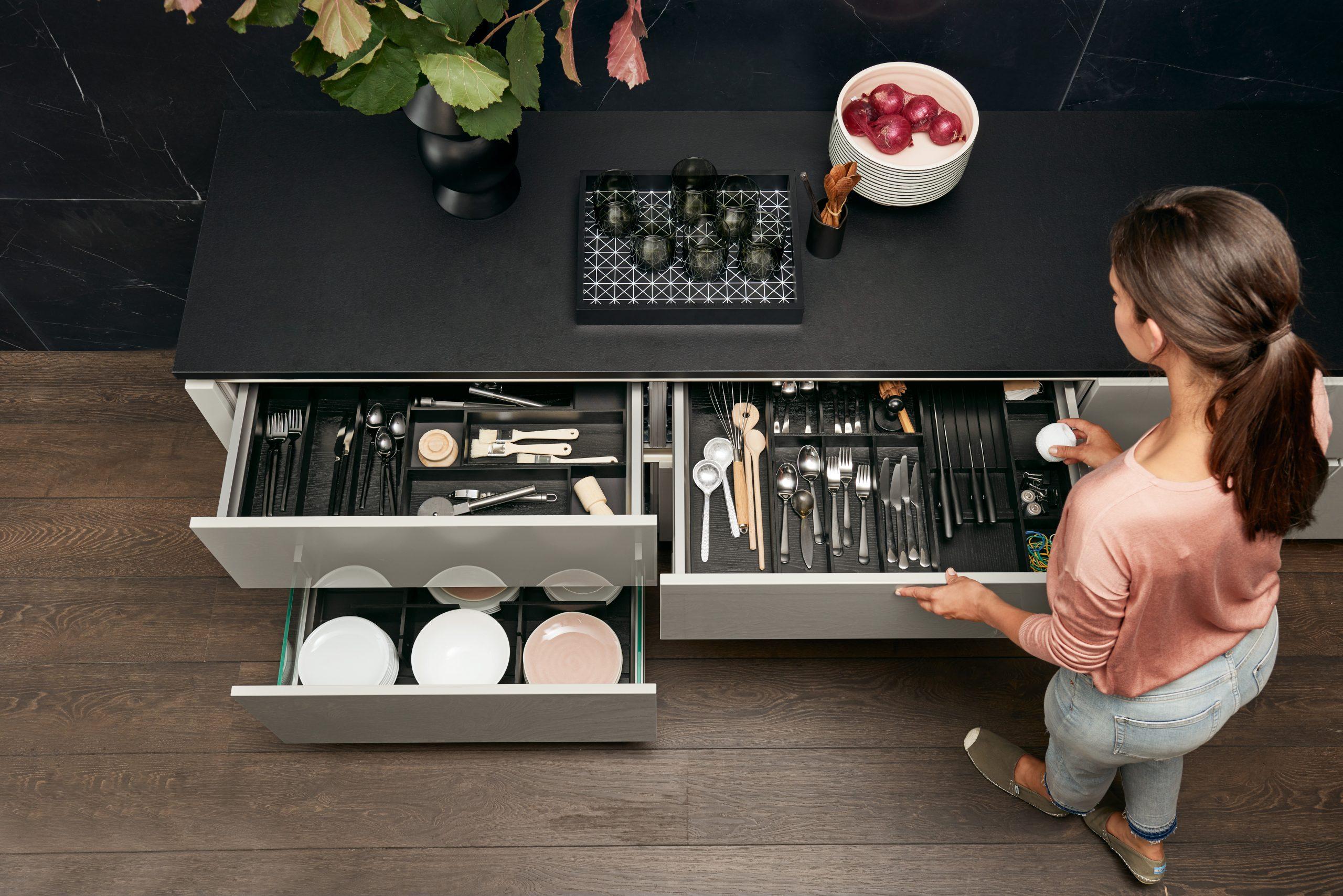 Ordnung im Küchenschrank mit Nolte Küchensystem
